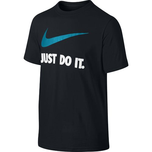 Image for Nike Boys' QT Just Do It Swoosh Short Sleeve Crew T-shirt from Academy