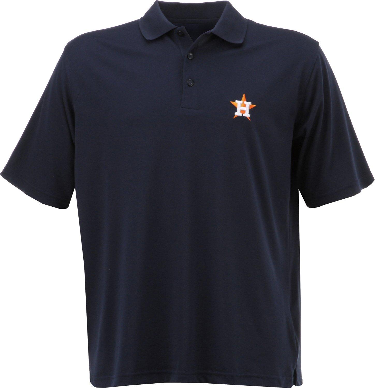 Wholesale Antigua Men's Houston Astros Piqu Xtra Lite Polo Shirt for cheap