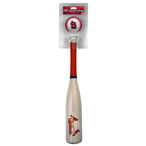 Rawlings® Kids' St. Louis Cardinals MLB Grand Slam Bat and Ball Set