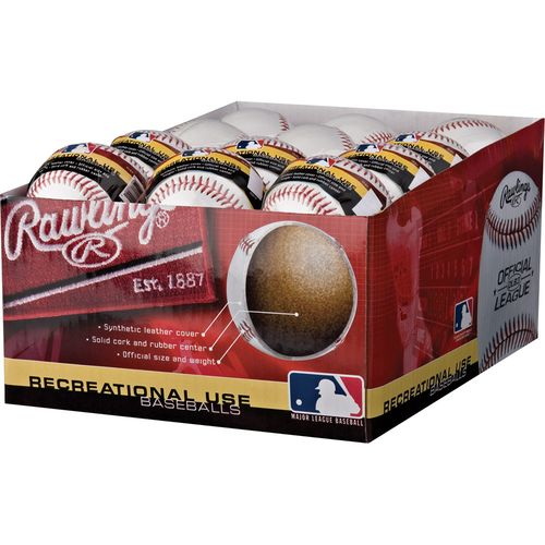 Rawlings Official League Practice Baseballs 24-Pack - view number 3