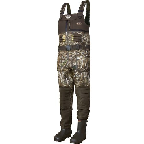 Display product reviews for Drake Waterfowl Men's MST Eqwader 2.0 Realtree Max-5 Bootfoot Chest Wader
