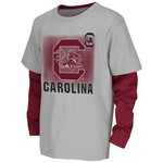 Colosseum Athletics Kids' University of South Carolina Flanker Long Sleeve Layer T-shirt