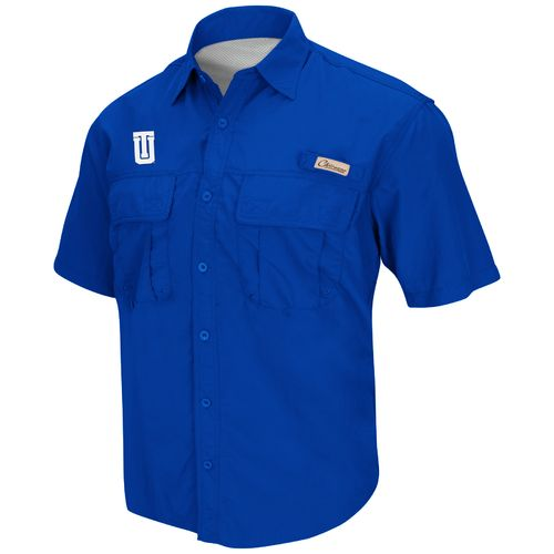 Chiliwear Men's University of Tulsa Swivel Short Sleeve Fishing Shirt