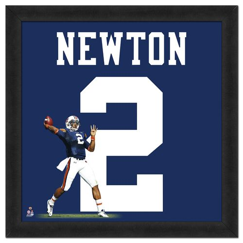 "Photo File Auburn University Cam Newton #2 UniFrame 20"" x 20"" Framed Photo"