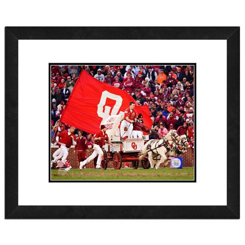 Photo File University of Oklahoma Sooner Schooner 8' x 10' Mascot Photo
