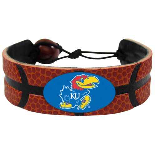 GameWear University of Kansas Classic Basketball Bracelet