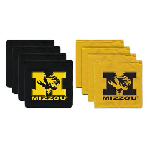 BAGGO® University of Missouri 12 oz. Replacement Beanbag Toss Beanbags 8-Pack