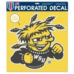 "WinCraft Wichita State University 17"" x 17"" Perforated Vinyl Decal"