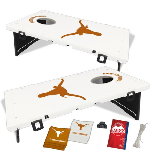 Display product reviews for BAGGO® University of Texas Beanbag Toss Game