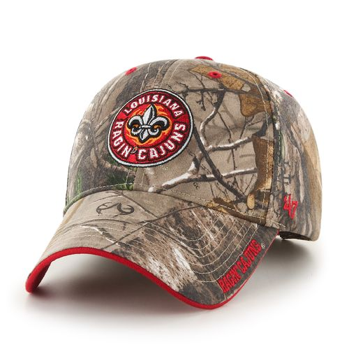 '47 Adults' University of Louisiana at Lafayette Realtree Frost MVP Cap - view number 1