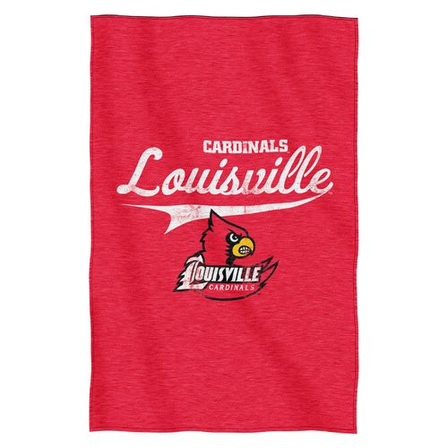 The Northwest Company University of Louisville Sweatshirt Throw