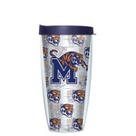 Signature Tumblers University of Memphis 22 oz. Repeated Pattern Traveler Insulated Tumbler