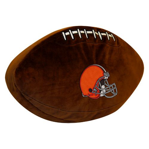 The Northwest Company Cleveland Browns Football Shaped Plush Pillow - view number 1