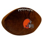 The Northwest Company Cleveland Browns Football Shaped Plush Pillow