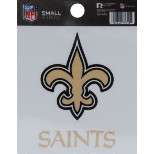 Rico New Orleans Saints Small Static Cling Decal