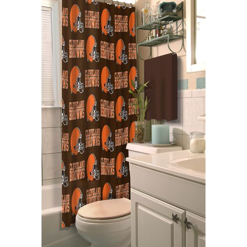 The Northwest Company Cleveland Browns Shower Curtain