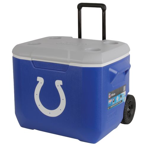 Coleman® Indianapolis Colts 60 qt. Performance Wheeled Cooler