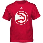 adidas Boys' Atlanta Hawks Primary Retro Short Sleeve T-shirt