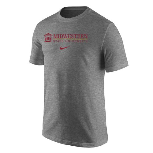 Nike™ Men's Midwestern State University Cotton Short Sleeve