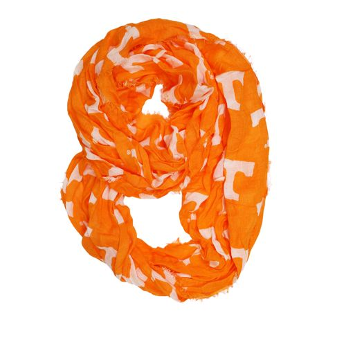 ZooZatz Women's University of Tennessee Logo Infinity Scarf