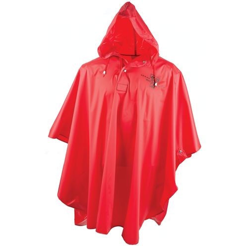 Storm Duds Men's Texas Tech University Slicker Heavy Duty PVC Poncho