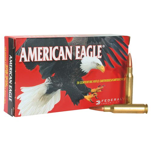 Federal Premium American Eagle .308 Win./7.62 NATO 168-Grain Open Tip Match Rifle Ammunition
