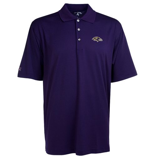 Antigua Men's Baltimore Ravens Phoenix Polo Shirt