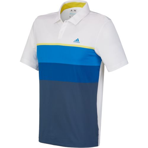 adidas Men's climacool Engineered Stripe Polo Shirt