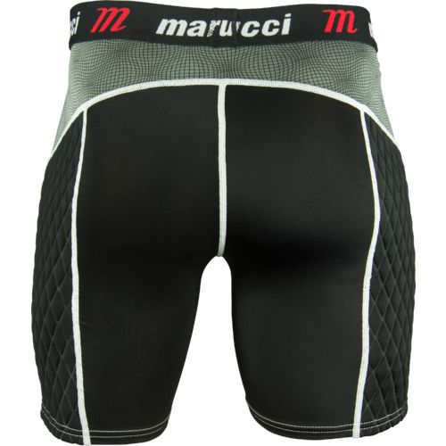 Marucci Adults' Elite Padded Slider Baseball Short - view number 2