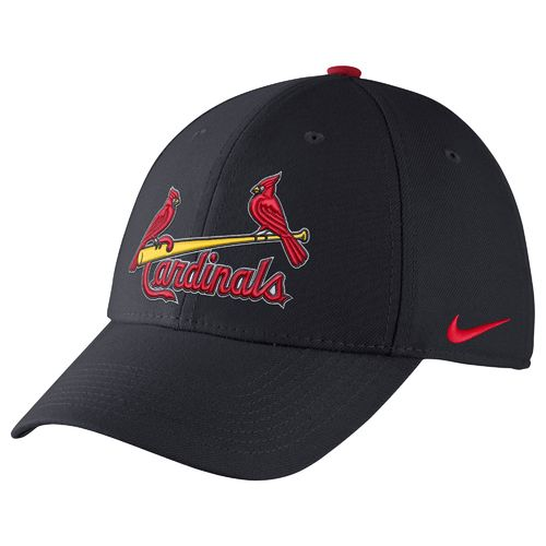 Nike™ Adults' St. Louis Cardinals Classic Dri-FIT Swoosh Flex Cap - view number 1
