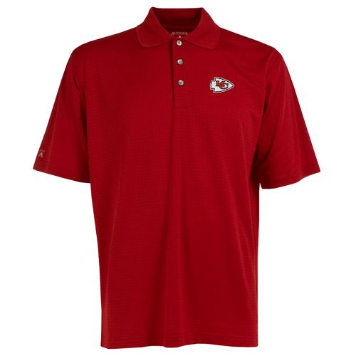 Antigua Men's Kansas City Chiefs Phoenix Polo Shirt