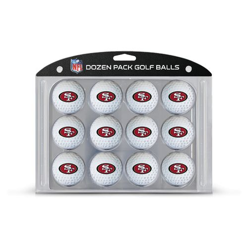 Team Golf San Francisco 49ers Golf Balls 12-Pack
