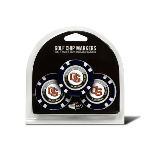 Team Golf Oregon State University Poker Chip and Golf Ball Marker Set - view number 1