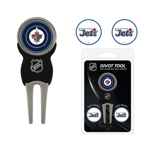Team Golf Winnipeg Jets Divot Tool and Ball Marker Set - view number 1