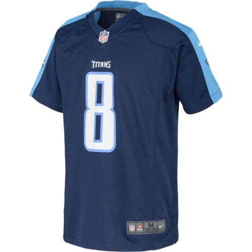 Nike™ Boys' Tennessee Titans Marcus Mariota Game Day Jersey - view number 2