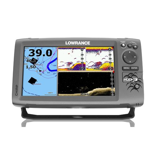 Display product reviews for Lowrance HOOK-9 Mid/High DownScan Sonar/GPS Chartplotter Combo