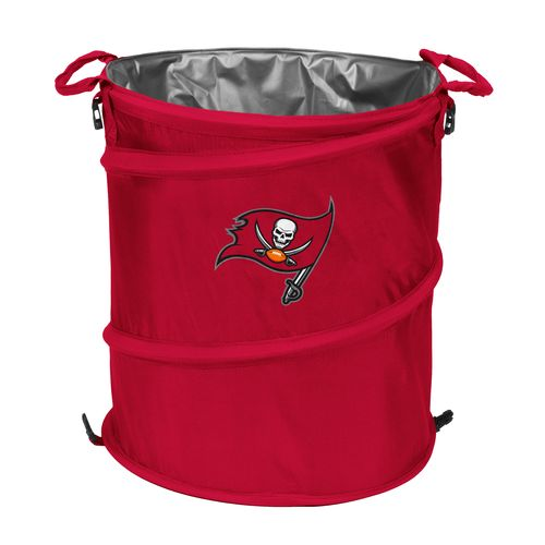 Logo™ Tampa Bay Buccaneers Collapsible 3-in-1 Cooler/Hamper/Wastebasket