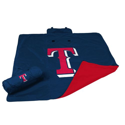 Logo Texas Rangers All-Weather Blanket