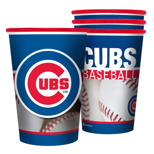 Boelter Brands Chicago Cubs 20 oz. Souvenir Cups 8-Pack