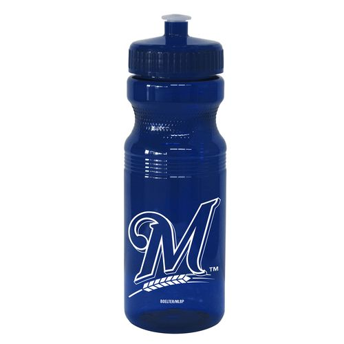 Boelter Brands Milwaukee Brewers 24 oz. Squeeze Water Bottles 2-Pack