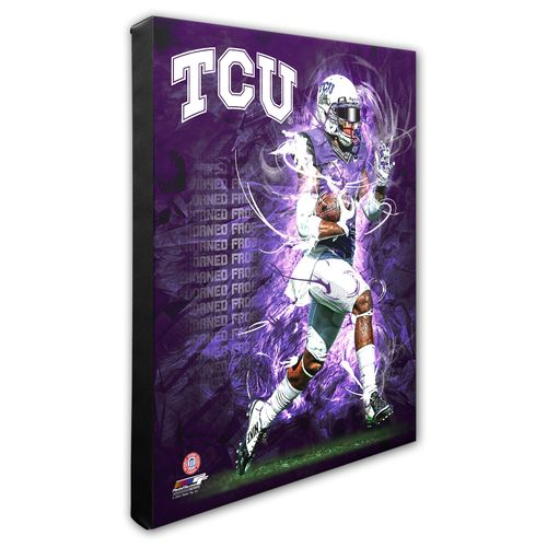 Photo File Texas Christian University Player Stretched Canvas