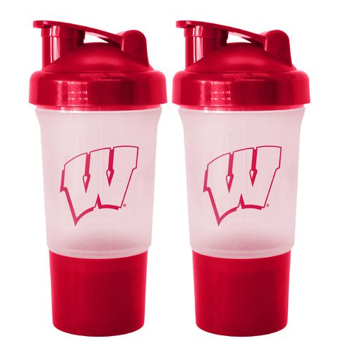 Boelter Brands University of Wisconsin 16 oz. Protein Shakers 2-Pack