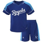Majestic Toddlers' Kansas City Royals Baseball Classic Shirt and Short Set