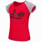 Colosseum Athletics Girls' University of Louisiana at Lafayette All About That Lace T-shirt