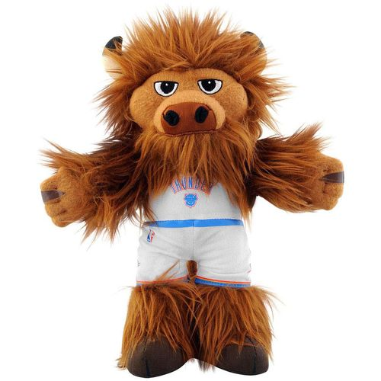"Bleacher Creatures™ Oklahoma City Thunder Rumble Mascot 10"""