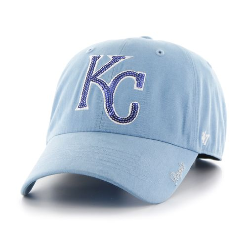 '47 Women's Kansas City Royals Sparkle Clean Up Cap