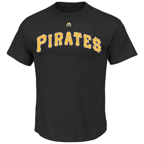 Majestic Men's Pittsburgh Pirates Gregory Polanco #25 T-shirt - view number 2