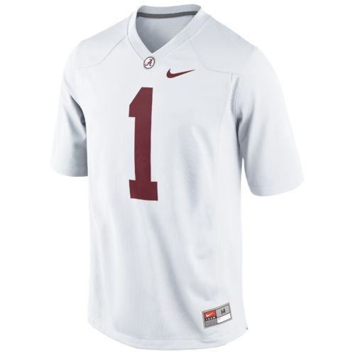Nike Men's University of Alabama Road Game Jersey