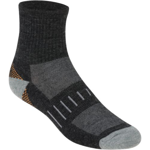 Magellan Outdoors™ Men's Merino Wool Blend Quarter Socks 2-Pack