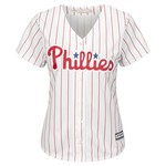 Majestic Women's Philadelphia Phillies Maikel Franco #7 Cool Base Replica Home Jersey - view number 2